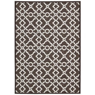 Waverly Treasures by Nourison Darjeeling Tea Area Rug (8' x 10')