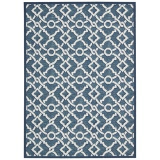 Waverly Treasures by Nourison Blue Jay Area Rug (5' x 7')