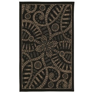 Waverly Color Motion Licorice Rug (2'3 x 3'9) by Nourison