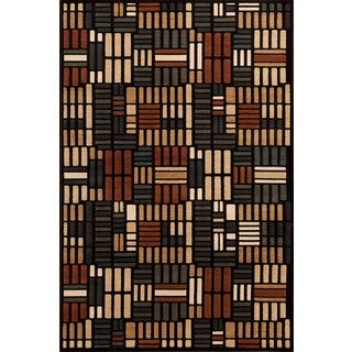 Christopher Knight Home Paige Desert Mammoth Black Area Rug (7'10 x 9'10)