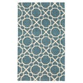 Waverly Color Motion by Nourison Teal Accent Rug (2'3 x 3'9)