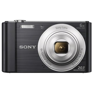 Sony Cyber-shot W810 20MP Black Digital Camera
