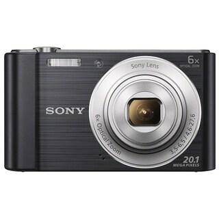 Sony Cyber-shot W810 20MP Black Digital Camera