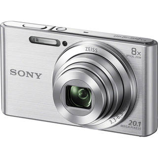 Sony DSC-W830 20MP Silver Digital Camera