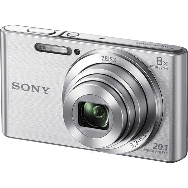 Sony DSC-W830 20MP Silver Digital Camera