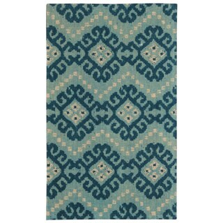 Waverly Color Motion by Nourison Prussian Area Rug (5' x 7')