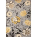 Christopher Knight Home Paris Citron Hampton Silver Area Rug (5' x 7'6)