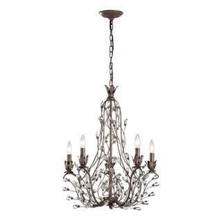 Elk Lighting Home Sagemore Bronze Rust 5-light Chandelier