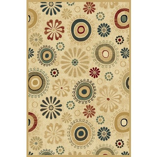 Christopher Knight Home Paige Mediterranean Daydream Wheat Area Rug (5' x 7'6)