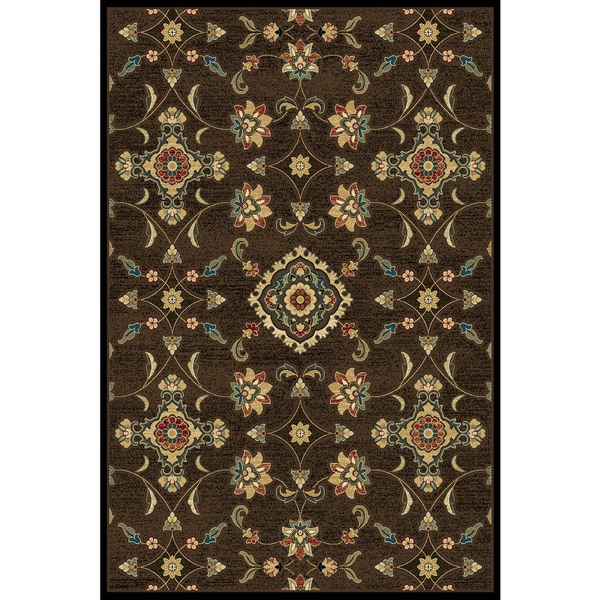 Christopher Knight Home Paige Mediterranean Anderton Brown Area Rug (5' x 7'6)