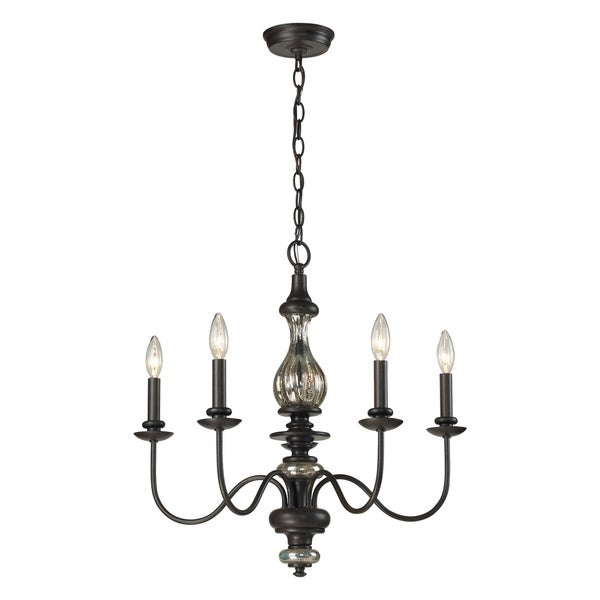 Elk Lighting Veronica 5-light Vintage Chandelier