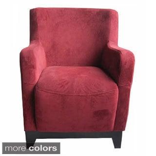 Emerald Bella Microfiber Accent Chair