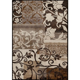 Christopher Knight Home Providence Terrain Barton Charcoal Area Rug (7'10 x 9'10)