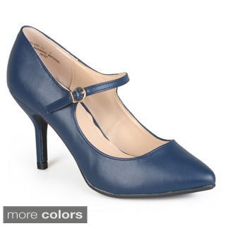 Journee Collection Women's 'Conner' Pointed Toe Mary Jane Pumps