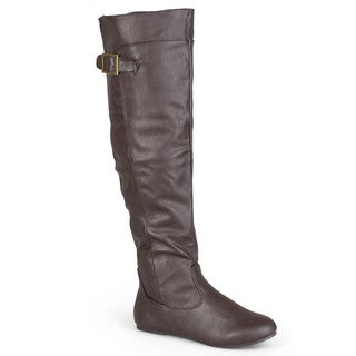 Journee Collection Women's 'Camden' Round Toe Tall Boots