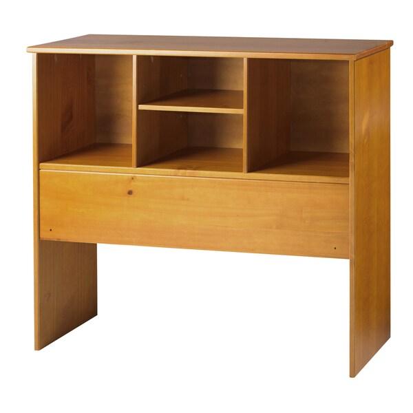 Kansas Twin Size Bookcase Headboard - 16685201 - Overstock.com ...