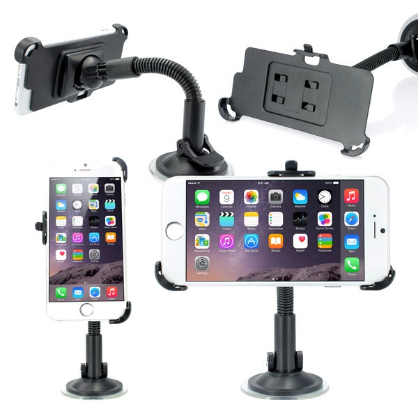 Gearonic Car Vehicle Mount Rotating Stand Holder for Apple iPhone 6 14106306