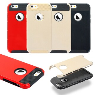 Gearonic Rugged PC + TPU Hard Matte Cover Case for Apple iPhone 6