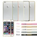 Gearonic Metal Aluminum Bumper Hard Frame Case Cover for iPhone 6