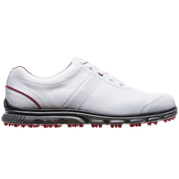 FootJoy Men's DryJoys Casual Spikeless White Golf Shoes
