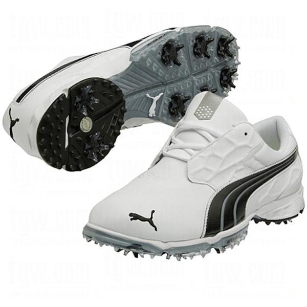 Puma Men's Biofusion Lite White-Black Golf Shoes
