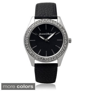 Journee Collection Women's Rhinestone Quartz Watch