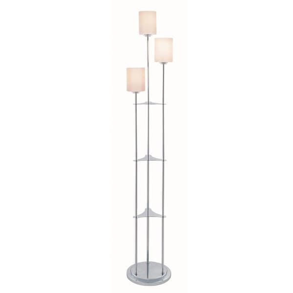 lite source bess 3 light floor lamp 16686461. Black Bedroom Furniture Sets. Home Design Ideas
