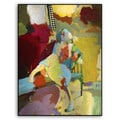 Gallery Direct M. Drake's 'Abstract Figure IV' Metal Art