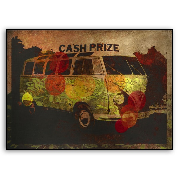 M. Drake's 'Cash Prize' Metal Art