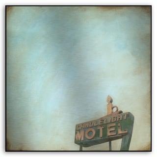 M. Drake's 'Polaroid Skies I' Metal Art