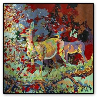 Gallery Direct Fatmir Gjevukaj's 'Deer' Metal Art