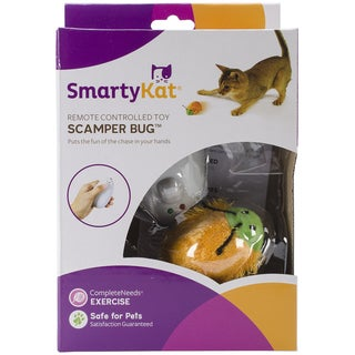 SmartyKat ScamperBug Remote Controlled Bug Toy