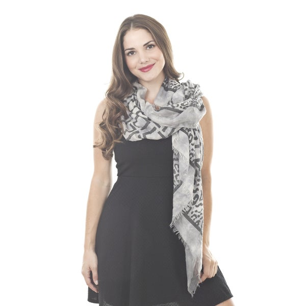 Animal-Geo Design Shawl