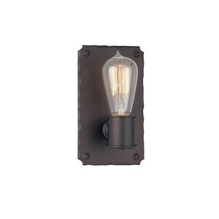 Troy Lighting Jackson Copper Bronzetone 1-light Wall Sconce