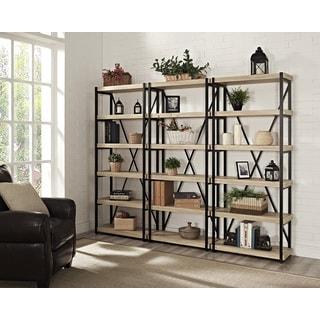 Denver 6-shelf Bookcase (Set of 3)
