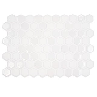 SomerTile 8x12-inch Perfect White Ceramic Wall Tile (Case of 18)