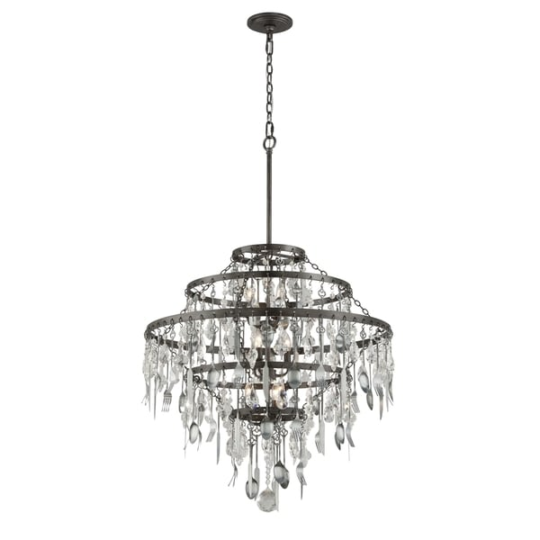 Troy Lighting Bistro 9-light Chandelier