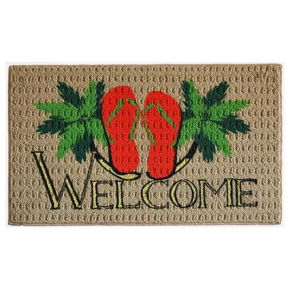 Flip-flop Welcome Indoor Mat (1'6 x 2'3) 14107307