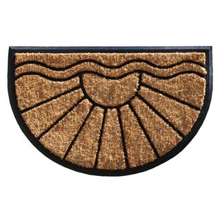 Sunrise Coir and Rubber Doormat (2' x 3')