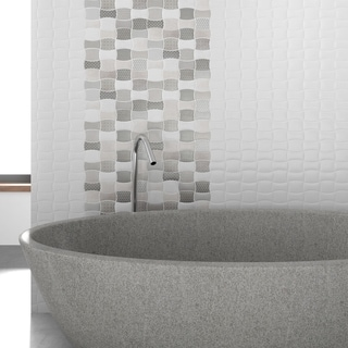 SomerTile 8x12-inch Infinite Luxe Ceramic Wall Tile (Case of 18)