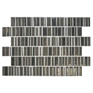 SomerTile 8x12-inch Beau Basalt Ceramic Wall Tile (Case of 18)