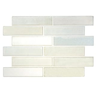 SomerTile 8x12-inch Anticus Snow Ceramic Wall Tile (Case of 18)
