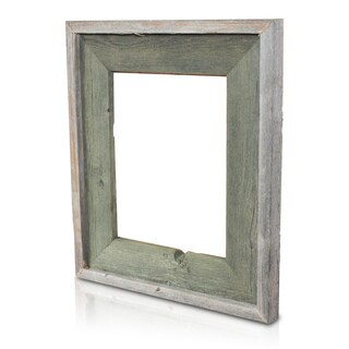 Natural Alligator Green Recycled/ Reclaimed Wood 8x10-inch Photo Frame
