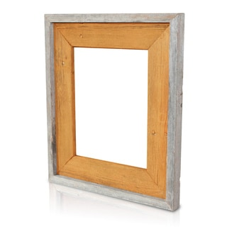 Natural Burnt Sienna Recycled/ Reclaimed Wood 8x10-inch Photo Frame