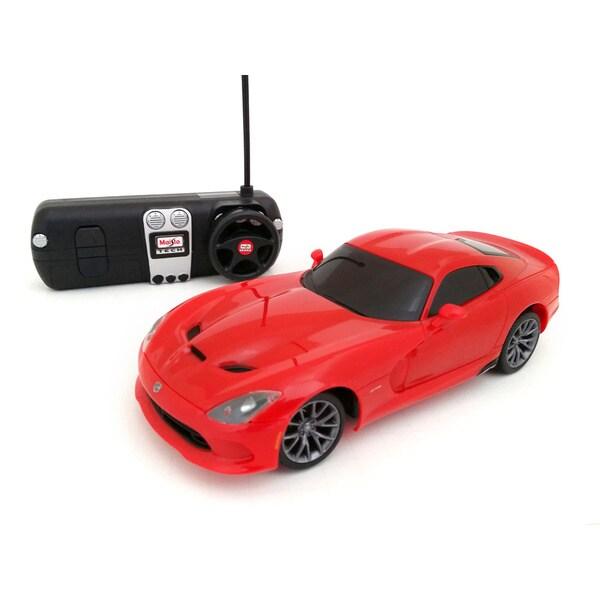 Maisto 1:24 Remote Control 2013 Dodge Viper SRT GTS