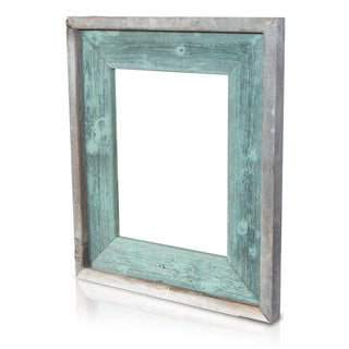 Jade Recycled/ Reclaimed Wood 5x7 Photo Frame