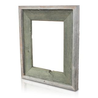 Alligator Green Recycled/ Reclaimed Wood 5x7-inch Photo Frame