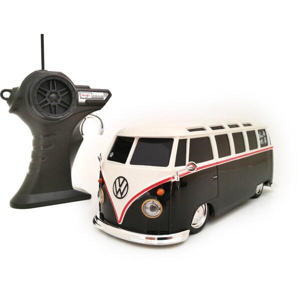 Maisto 1:24 Remote Control Volkswagen Retro Samba Van