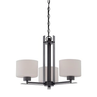Nuvo Parallel 3 Light Chandelier