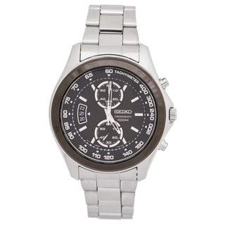 Seiko Men's SNN257 Sport Silvertone Watch